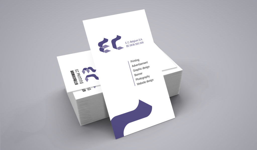EC business card